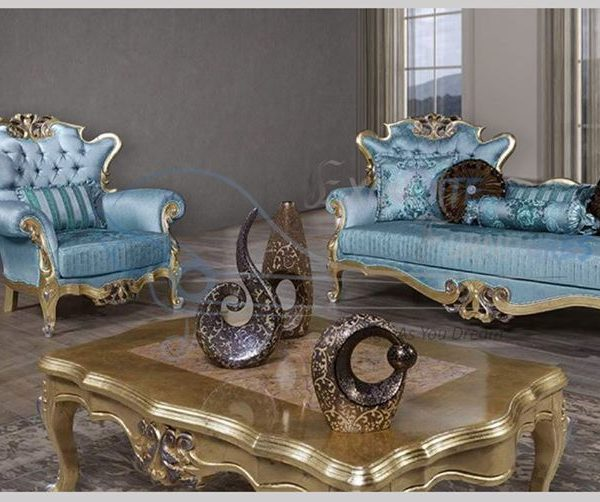 Exquisite Style Handcrafted Sofa