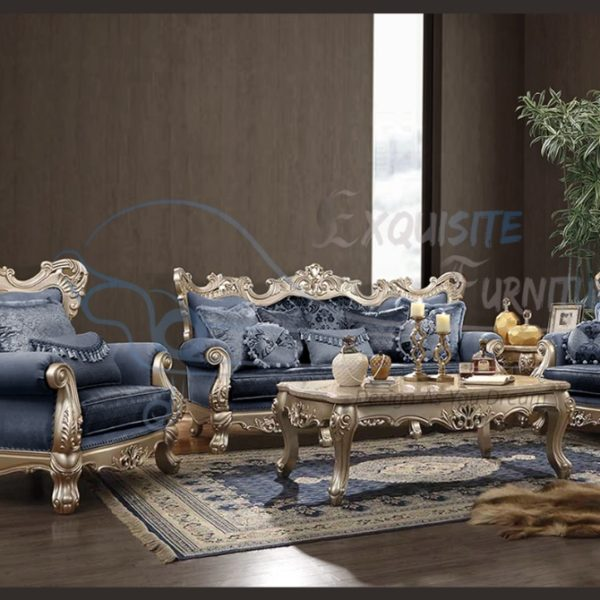 Exquisite style handcrafted bed